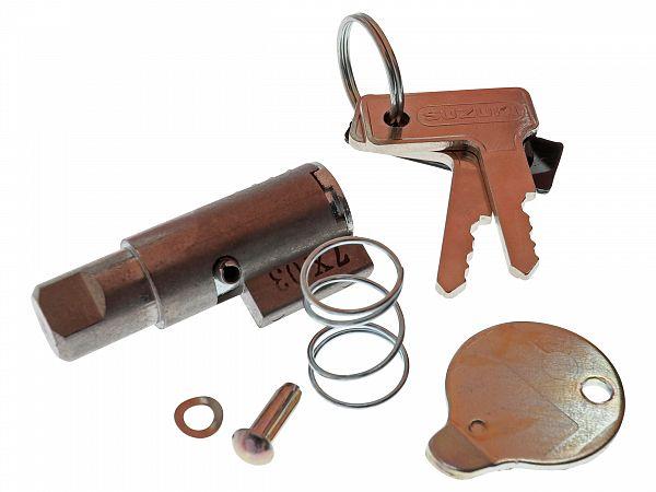 Låsecylinder med nøgle til forgaffel - original
