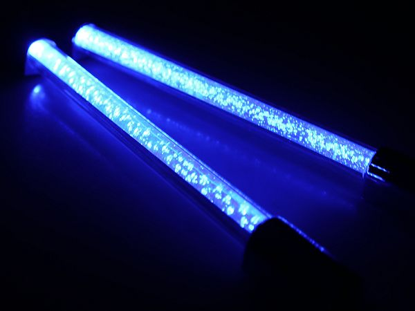 LED-bar, 12 cm - blå - TunR
