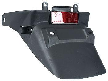 License plate holder - black - original