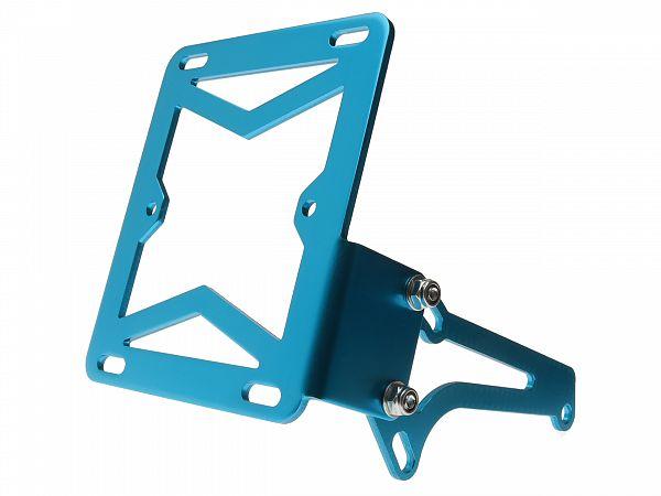 License plate holder - TNT - blue