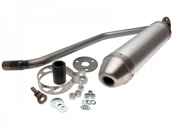 Lyddæmper til Giannelli Enduro - Aluminium