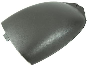 Lying in helmet compartment