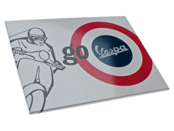 "Magnet - Vespa ""Go low centre of gravity"""