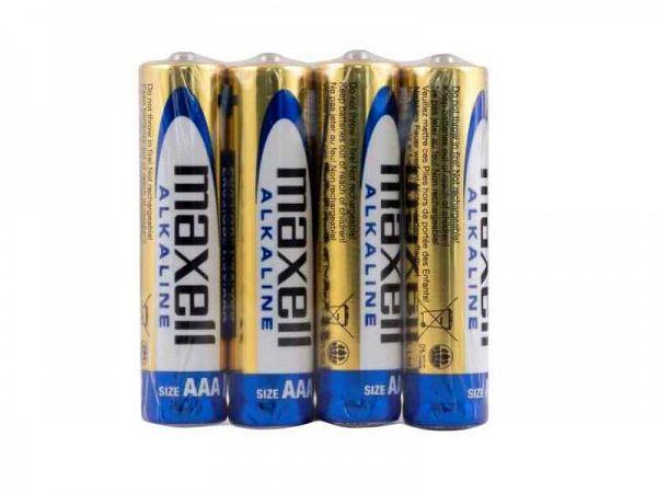 Maxell AAA Batterier, 4 stk