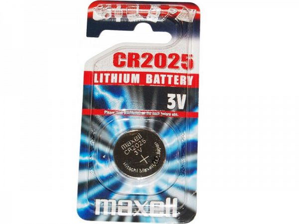 Maxell CR2025 3V Batteri