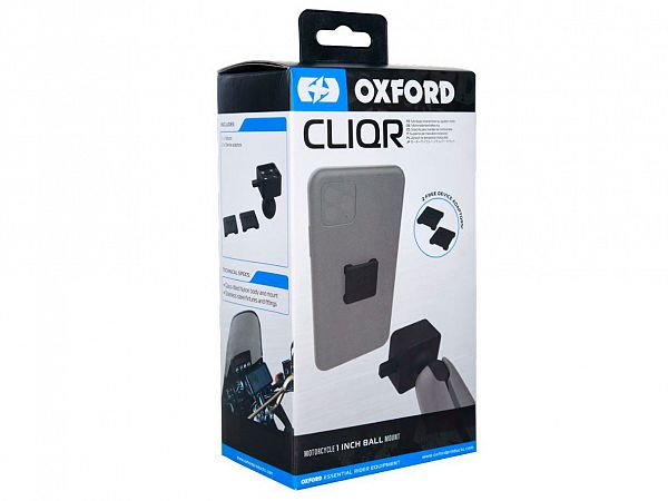 """Mobile Accessories - CLIQR 1 """"Ball Bracket - Oxford"""