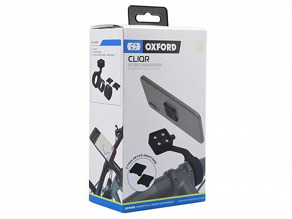 Mobile Accessories - CLIQR Handlebar Mount, Forward - Oxford