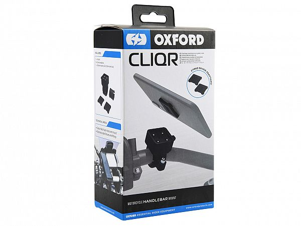 Mobile Accessories - CLIQR Handlebar Mount - Oxford