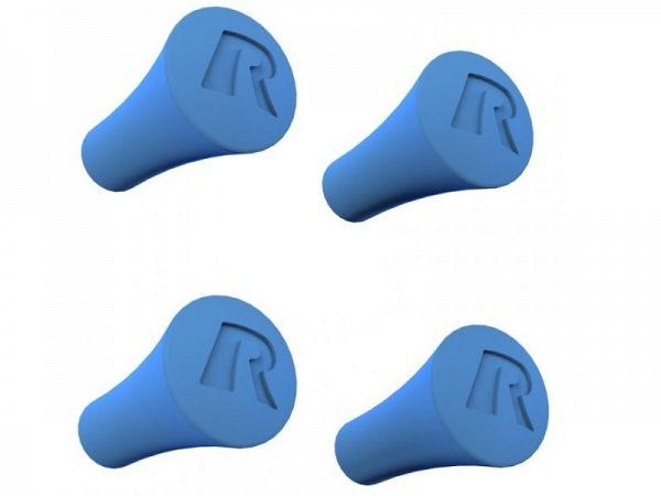 Mobiltilbehør - Gummihætter til X-Grip Universal Holder, blå - RAM Mounts