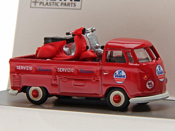Model - Volkswagen T1b Vespa servicebil