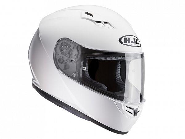 Mopedhjälm - HJC CS15 Solid vit