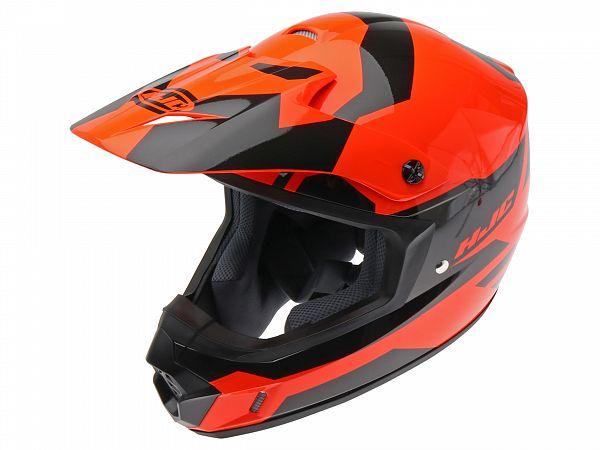Mopedhjälm - HJC CSMX II Pictor orange