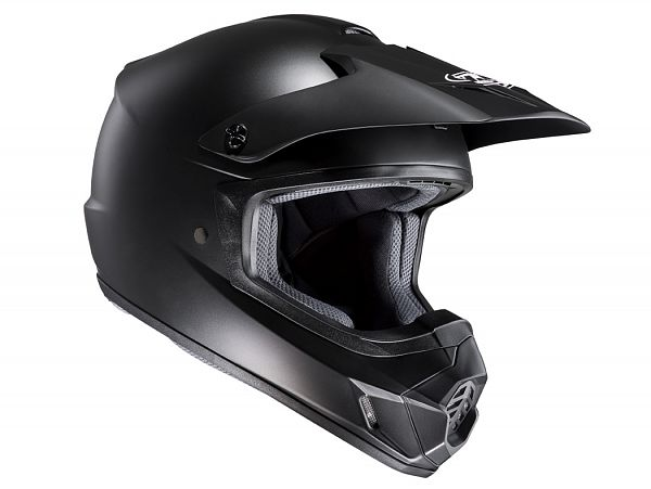 Mopedhjälm - HJC CSMX II Semi Flat matt svart