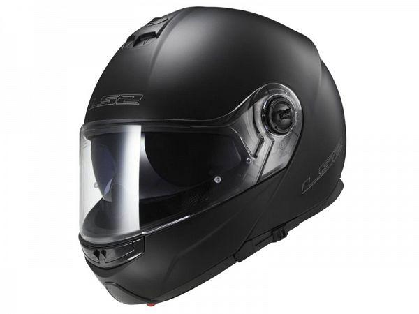 Mopedhjälm - LS2 FF325 Strobe matt svart