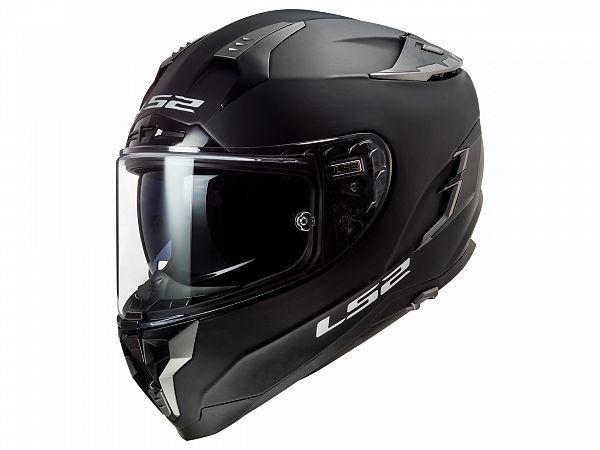 Mopedhjälm - LS2 FF327 Challenger Solid, matt svart