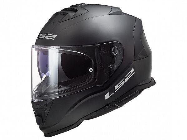 Mopedhjälm - LS2 FF800 Storm Solid, matt svart