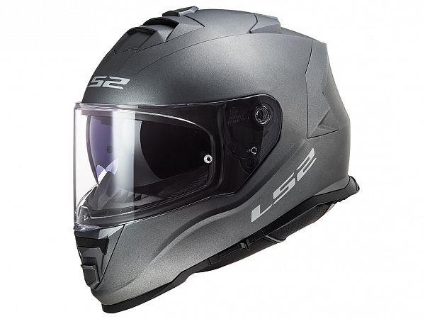 Mopedhjälm - LS2 FF800 Storm Solid, med titan