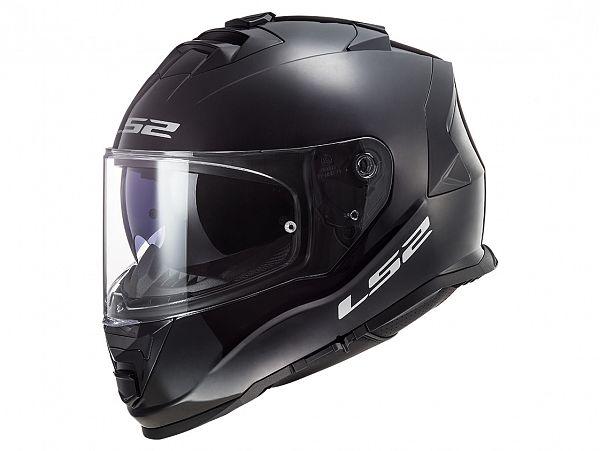 Mopedhjälm - LS2 FF800 Storm Solid, svart