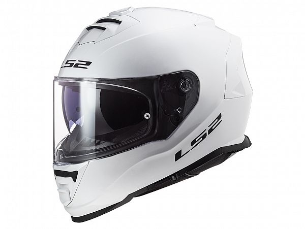 Mopedhjälm - LS2 FF800 Storm Solid, vit