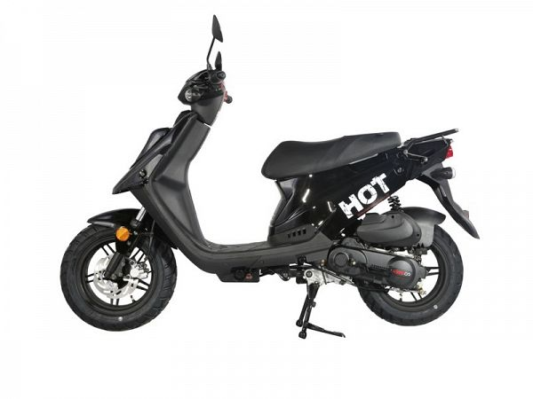 MOTOCR Hot 50 4T Euro4 - Black - 30 km / h