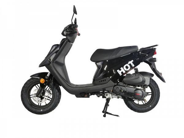 MOTOCR Hot 50 4T Euro4 - Sort - 30 km/t