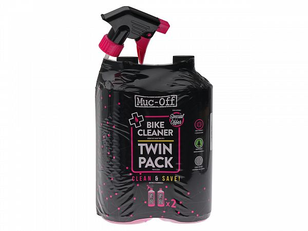 Muc-Off Nano Tech Bike Cleaner Twin Pack