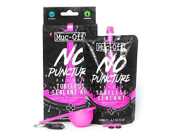 Muc-Off No Puncture Hassle Tubeless Sealant Kit, 140ml