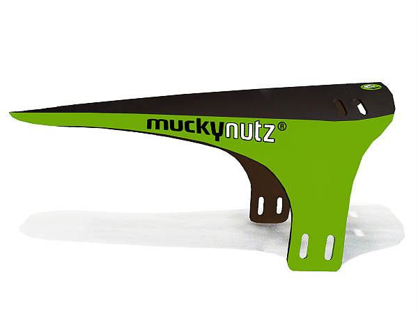 Mucky Nutz Face Fender Forskærm, Black/Green