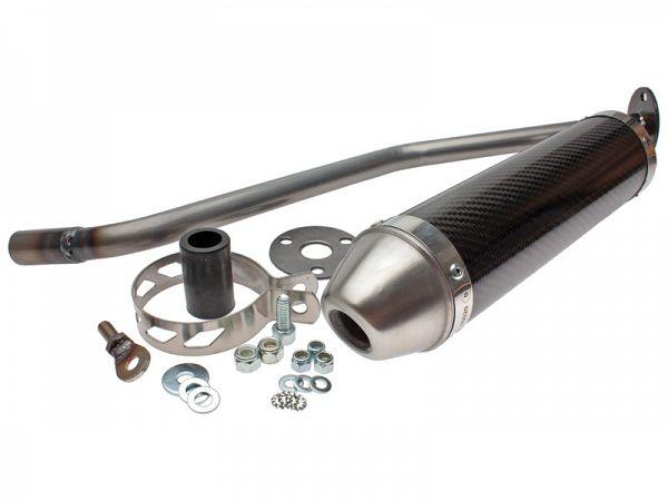 Muffler for Giannelli Enduro - Carbon