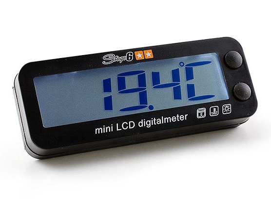 Multimeter - Stage6 MkII Mini, sort