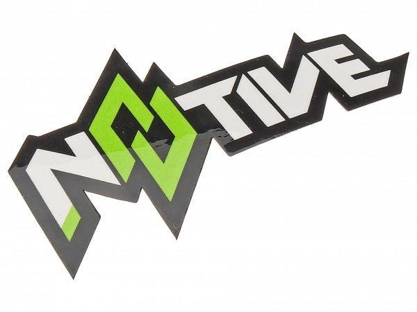 N8TIVE Sticker 7x4 cm