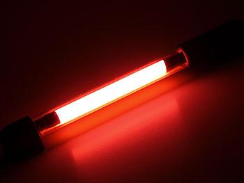 Neonrør 260mm, rød