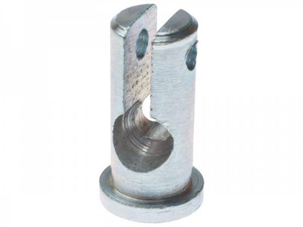 Nippel til kabel M8 x 19mm