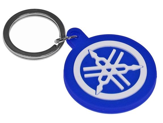 Nøglering - Yamaha logo, blå