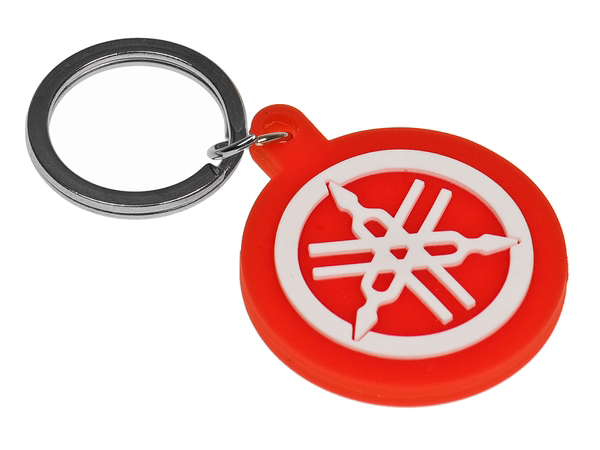 Nøglering - Yamaha logo, rød