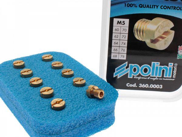 Nozzle kit - Polini DellOrto 5mm
