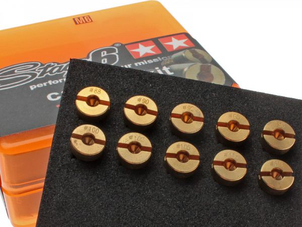 Nozzle Kit - Stage6 DellOrto 6mm