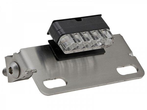 Nummerpladeholder - Voca m. LED lys
