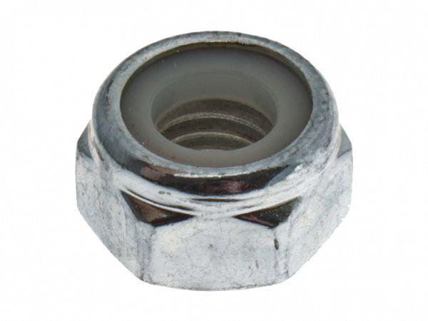 Nut for bolt at engine suspension at engine / rear shock absorber - original