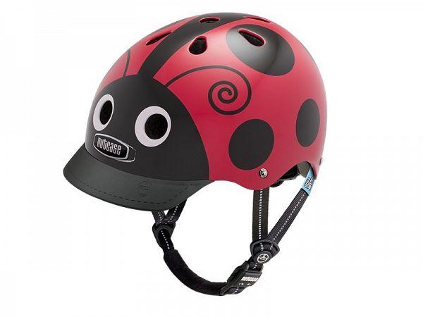 Nutcase Gen3 Little Nutty Cykelhjelm, Ladybug