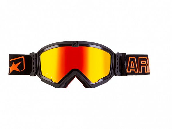 Off road goggles - Ariete Mudmax, Red / Orange
