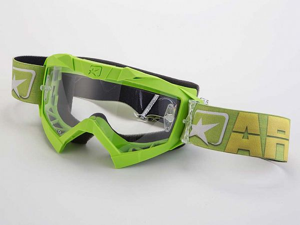Off road goggles - Ariete MX Adrenaline, Green
