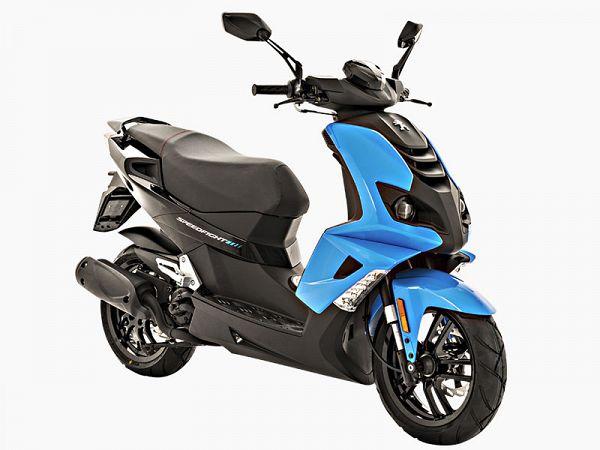 * OFFER * Peugeot Speedfight 4 2T - blue - 30 km / h