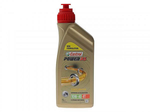 Oil - Castrol Power1 RS 4T 10W-40 partially synthetic