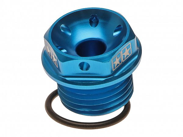 Oil screw for engine block - Stage6, blue