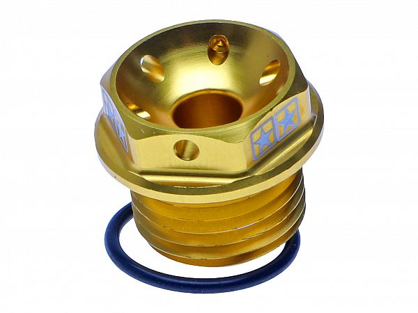 Oil screw for engine block - Stage6, gold