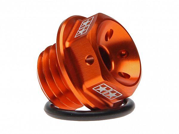 Oil screw for engine block - Stage6, orange