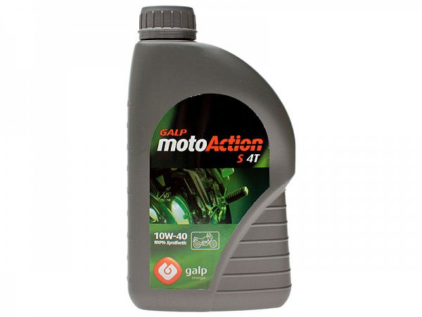 Olie - Galp motoAction S 4T 10W-40 - 1L