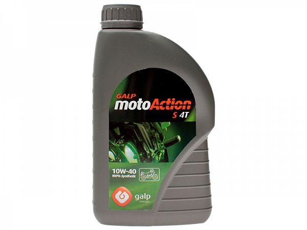 Olie - Galp motoAction S 4T 10W-40 - 1L