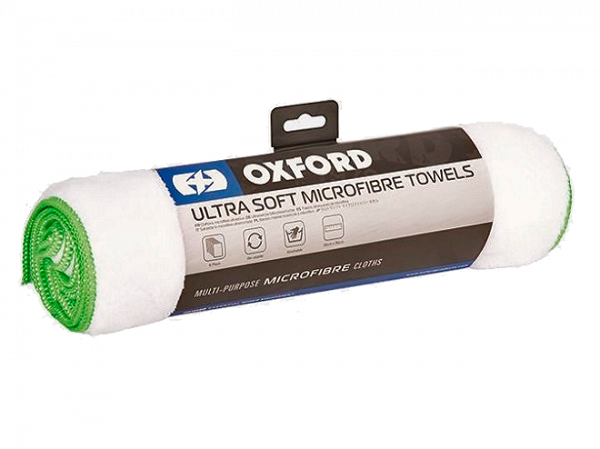 Oxford Microfiber Ultra Soft Pudseklude - 6 stk. hvid